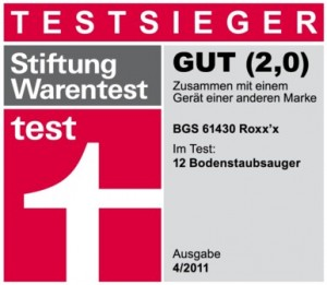 Bosch Testsieger Staubsauger Roxx'x