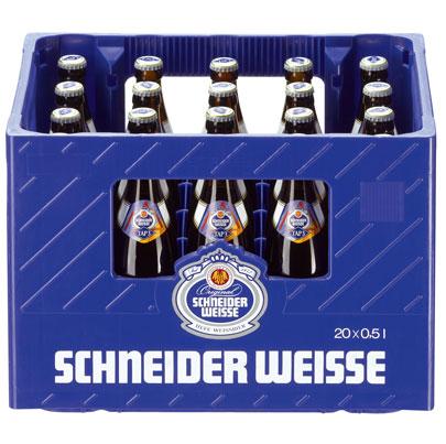Kasten Bier Schneider Weisse