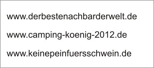 Beispiele langer Domainnamen mit besonderer Marketingzielsetzung