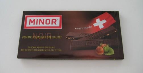 Minor Schokolade - Bedeutung des Namens auf Englisch