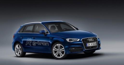 Bild des Audi A3 g-tron in blau