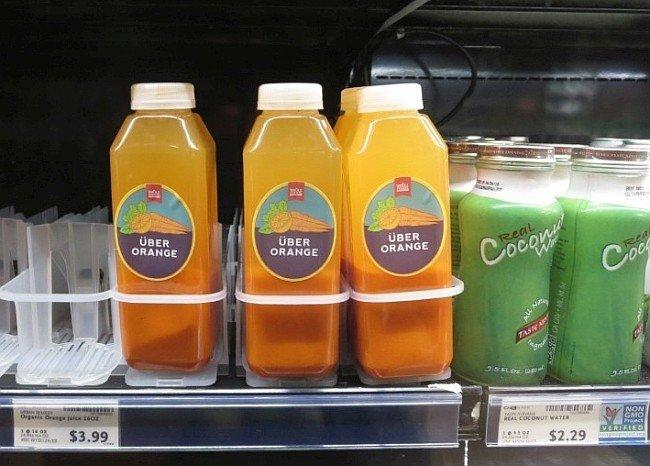 Über Orange Gemüsefruchtsaft