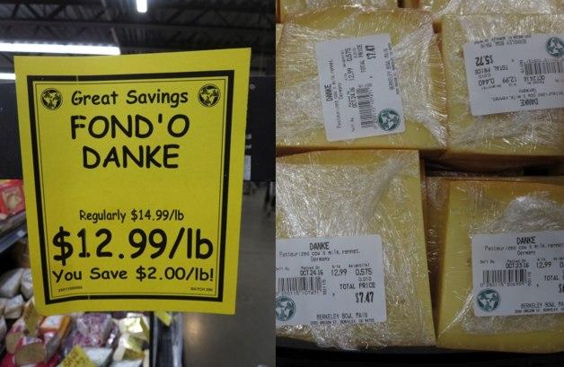 Fond'o Danke Käse aus Deutschland