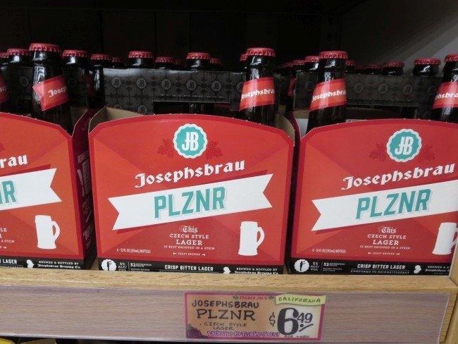 Josephsbrau PLZNR Bier bei Trader Joe's