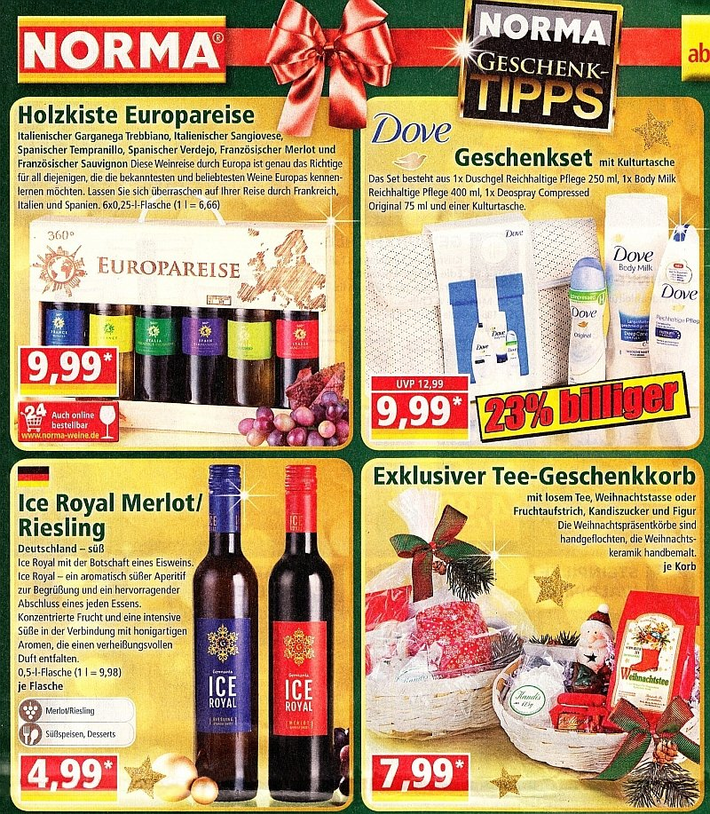Eiswein Ice Royal Alternative bei Norma im Prospekt