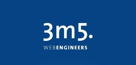 Neue Eigenbezeichnung 3m5. webengineers