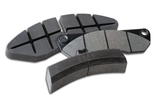 Foto von Knorr-Bremse Pads für Bremsen bei Zügen