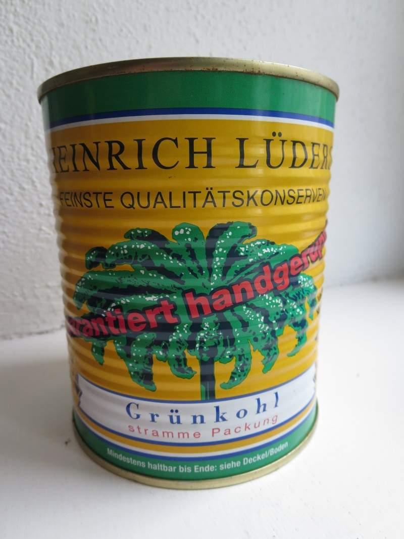 Grünkohldose Heinrich Lüders