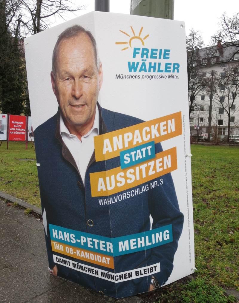 Freie Wähler Damit München München bleibt