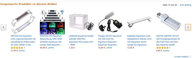Aquariumbeleuchtung Angebote auf Amazon