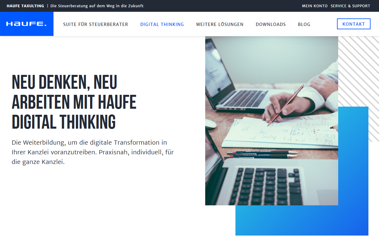 Weiterbildung Haufe Digital Thinking