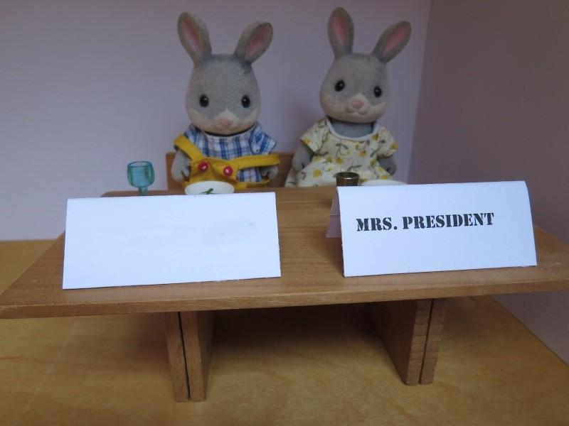 Mrs. President + ?