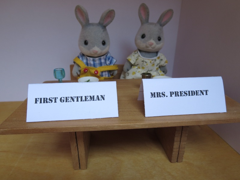 Mrs. President + First Gentleman
