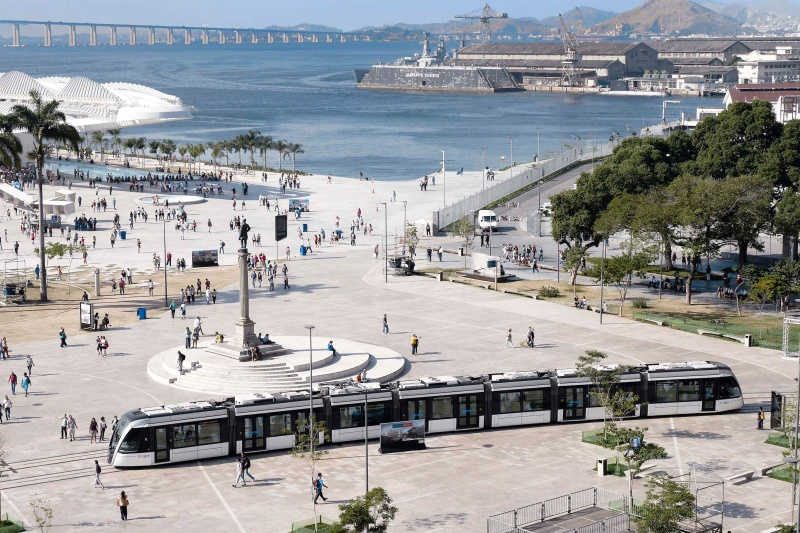 Tram in Brasilien